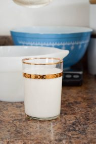 Homemade Almond Milk | In Jennie's Kitchen