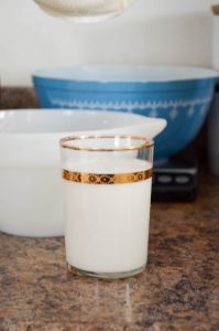 Homemade Almond Milk | In Jennie's Kitchen