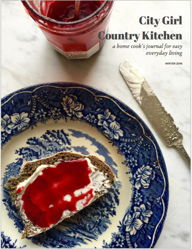 City Girl, Country Kitchen: A Home Cook's Journal for Easy, Everyday Living | www.injennieskitchen.com