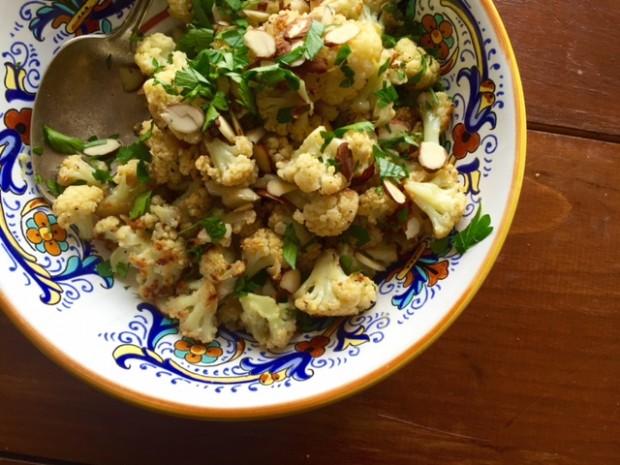 Dry Roasted Cauliflower — the very best way to cook cauliflower. | www.injennieskitchen.com