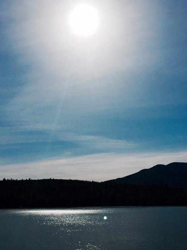 A late afternoon walk along the Ashokan Reservoir.