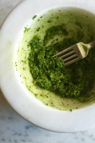 Ginger, Parsley & Pistachio Pesto