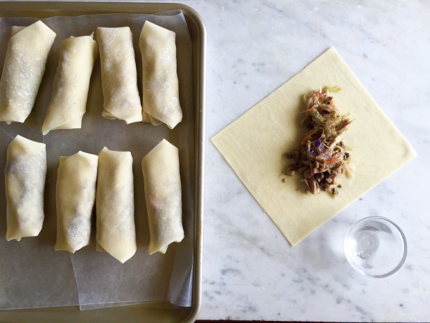 Best Chinese Takeout: Homemade Egg Rolls | www.injennieskitchen.com