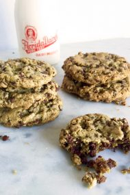 Buckhwheat Chocolate Chip Cookies