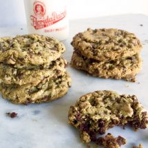 buckwheat chocolate chip cookies {video}