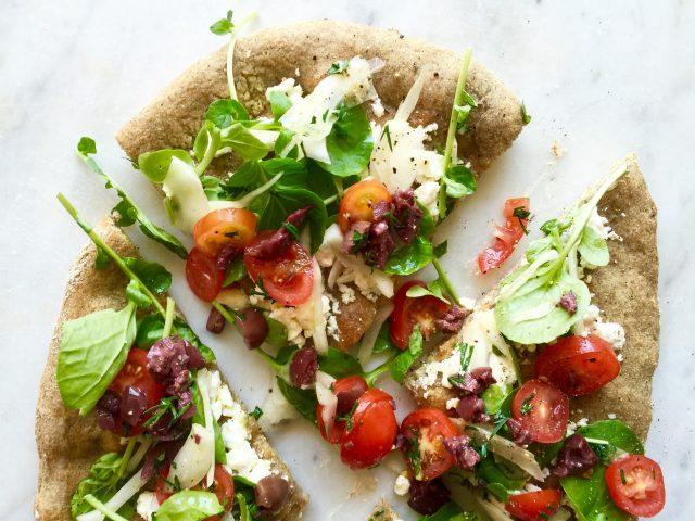 Mediterranean Pizza | In Jennie's Kitchen