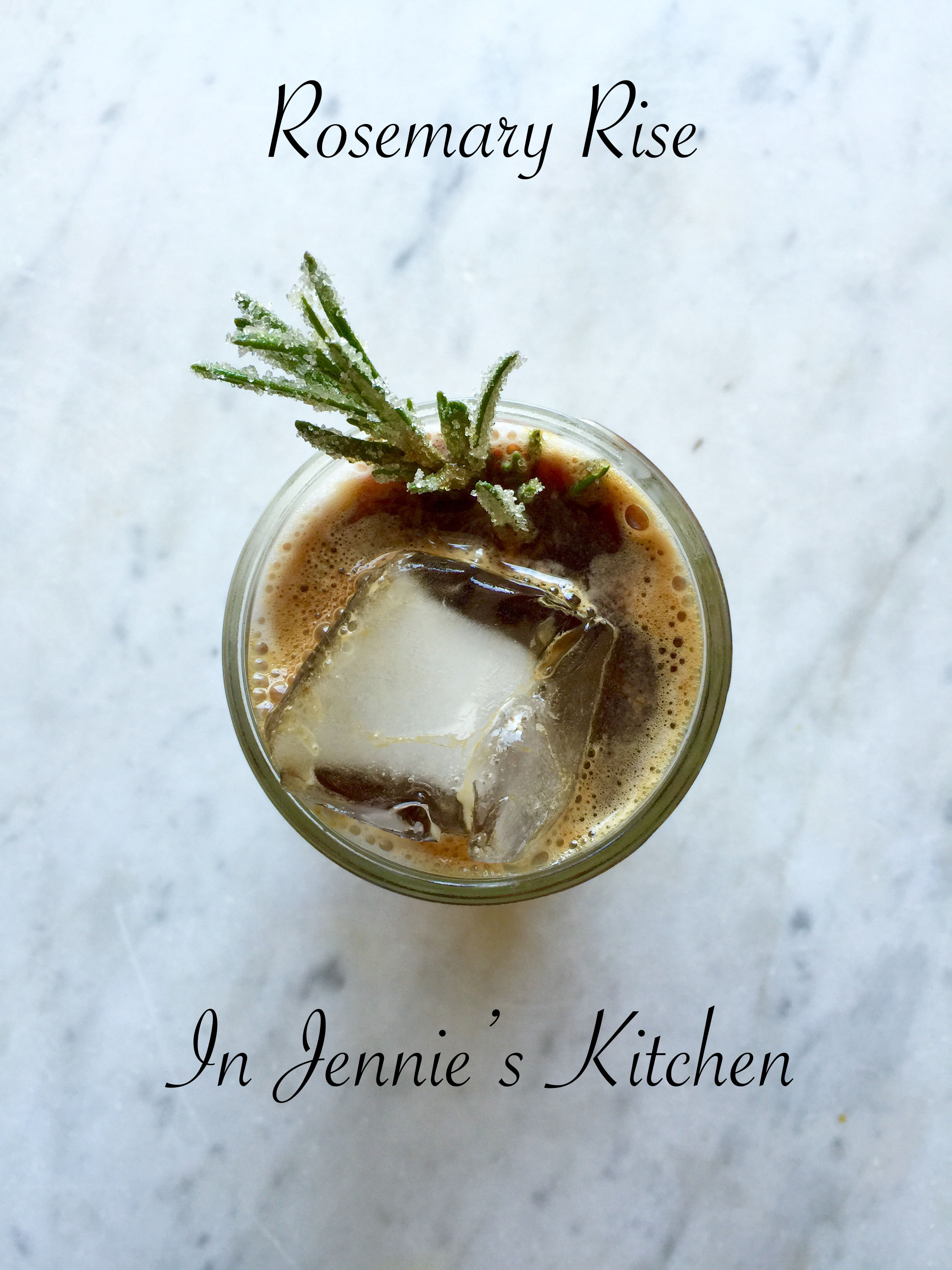 rosemary rise best coffee drink ever in jennie s kitchen