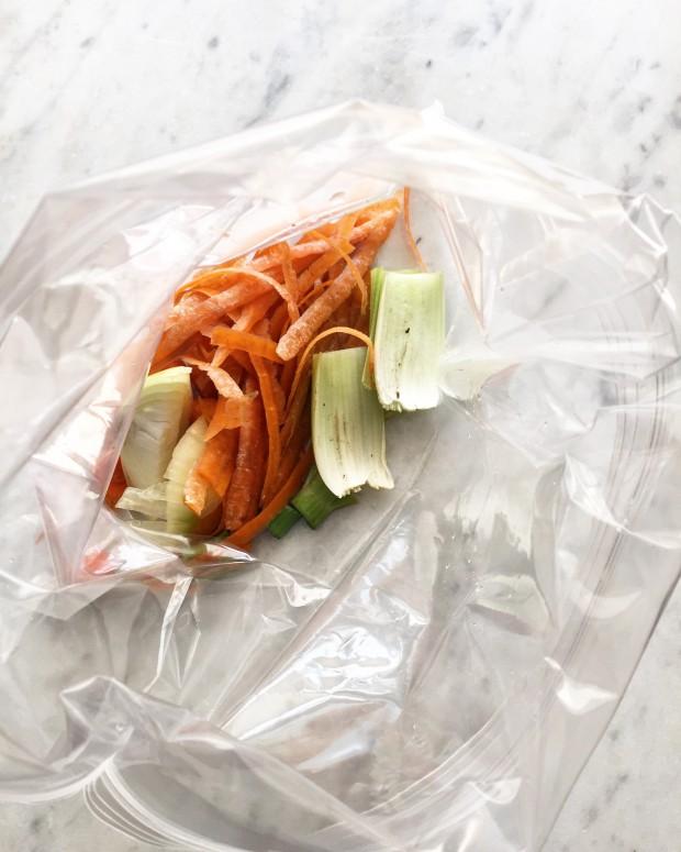 Vegetable Peelings & Trimmings | In Jennie's Kitchen