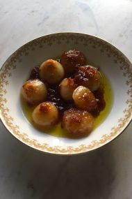 Braised Cipollini Onions | In Jennie's Kitchen