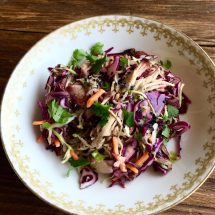 Pulled Pork & Cabbage Salad