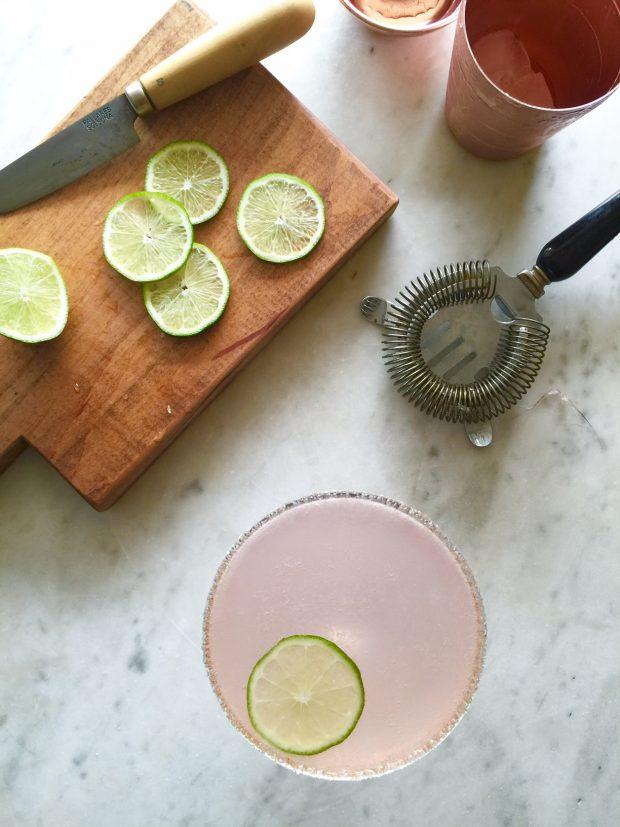 Sparkling Violet Margarita | In Jennie's Kitchen