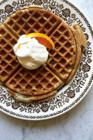 Buckwheat Waffles | In Jennie's Kitchen