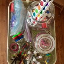 Chaos Control |How to Organize Craft Supplies