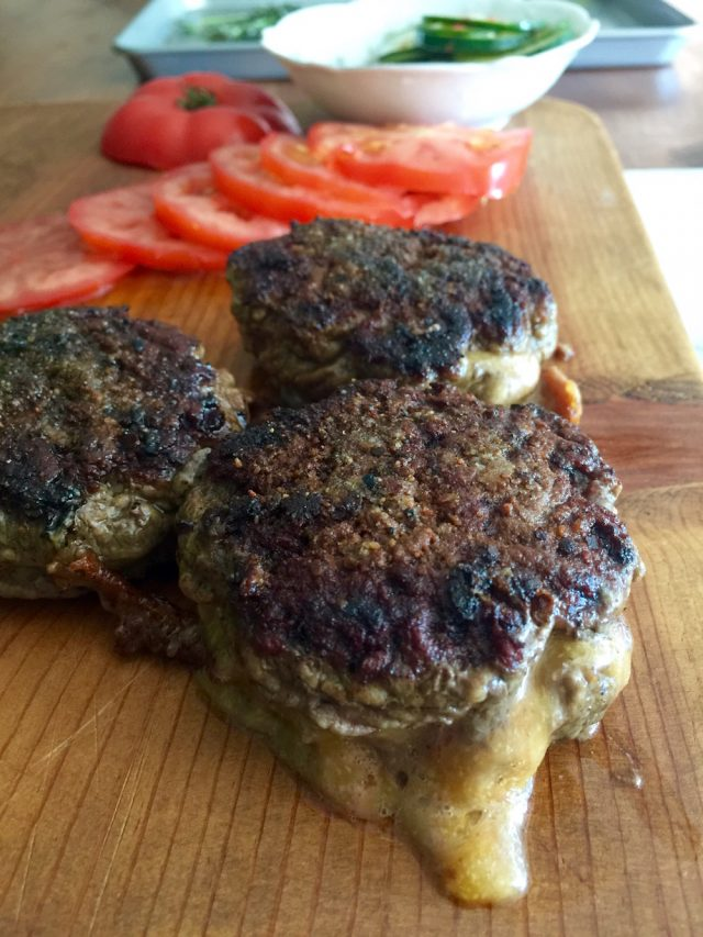 Stuffed Cheeseburgers | In Jennie's Kitchen