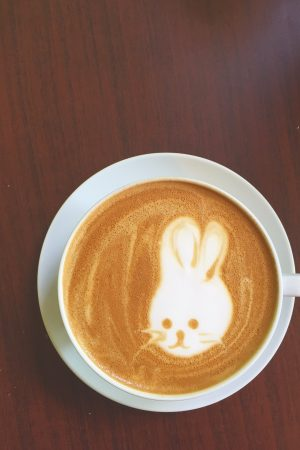 Latte Art at Coffee Nature in D.C. | In Jennie's Kitchen