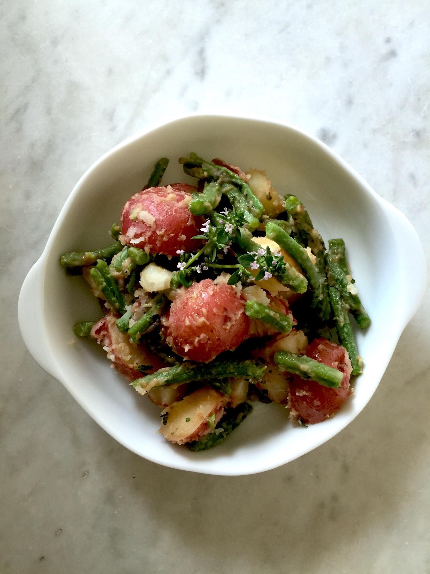 Recipe For Italian Potato Salad With Green Beans