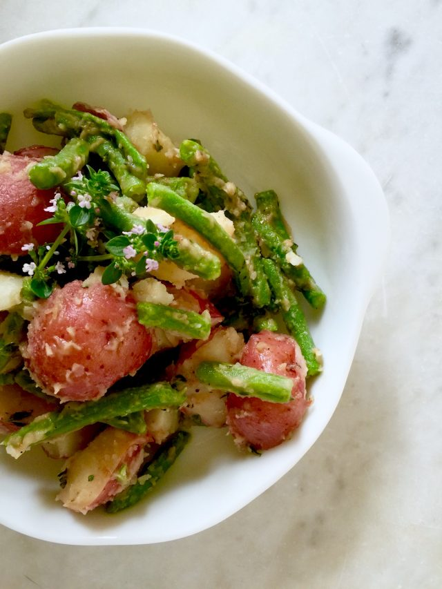 Italian String Bean & Potato Salad | In Jennie's Kitchen