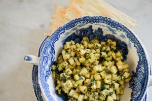 Zucchini Tartare   In Jennie's Kitchen