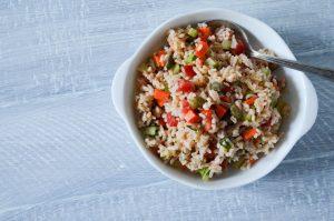 Italian Rice Salad | In Jennie's Kitchen