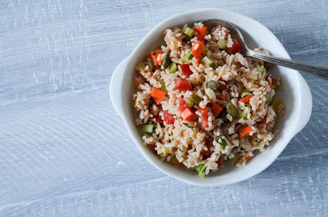 Italian Rice Salad   In Jennie's Kitchen