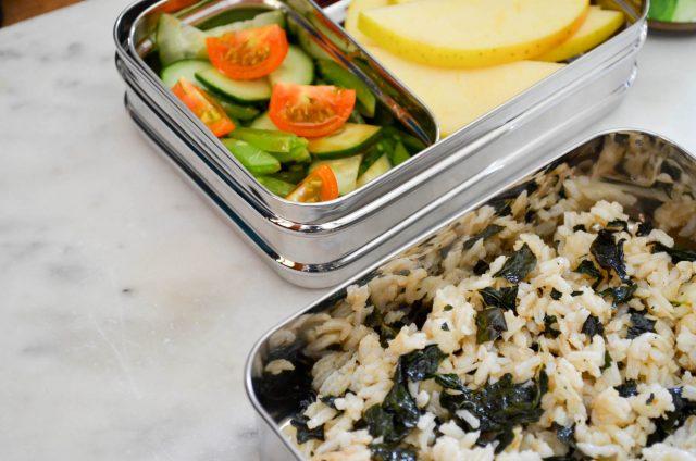 Kale Sushi Rice Bowls   In Jennie's Kitchen