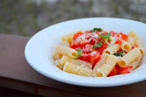 No Cook Tomato Basil Sauce   In Jennie's Kitchen