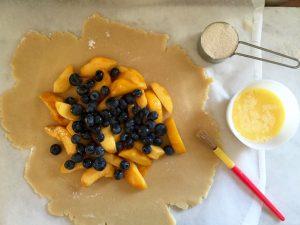 Peach Blueberry Tart   In Jennie's Kitchen