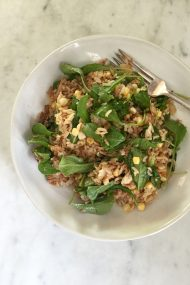 Pork Fried Rice Salad | In Jennie's Kitchen