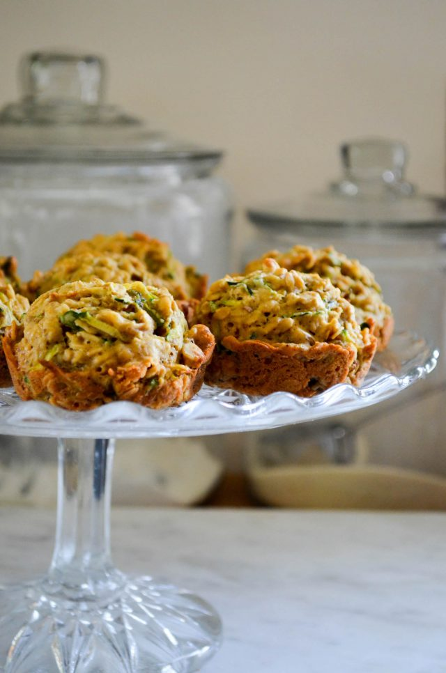 Zucchini Oatcakes | In Jennie's Kitchen