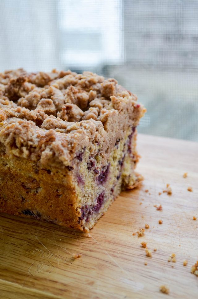 Blackberry Coffee Cake | Get the recipe at In Jennie's Kitchen