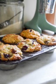 Concord Grape Muffins | In Jennie's Kitchen