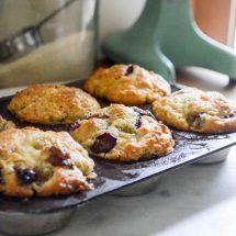 Concord Grape Muffins: Freeze Now, Bake Later