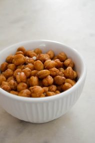 Crispy Roasted Rosemary Chickpeas | In Jennie's Kitchen
