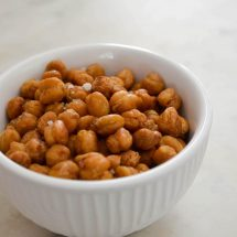 Crispy Rosemary Roasted Chickpeas