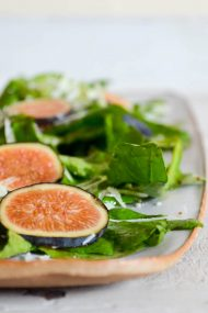 Fig, Arugula & Pecorino Salad | Recipe at In Jennie's Kitchen