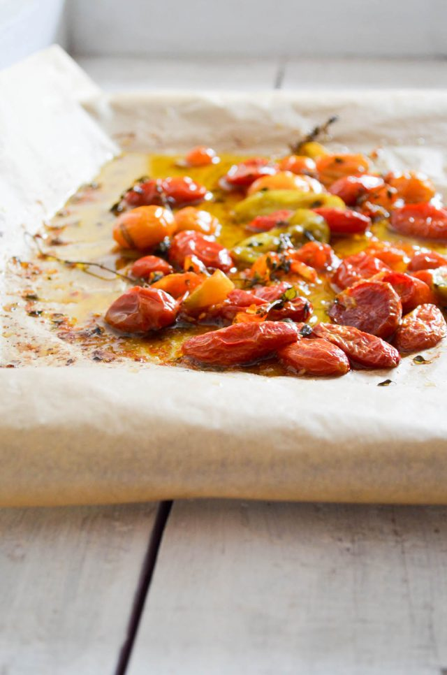 Slow Roasted Tomatoes | In Jennie's Kitchen