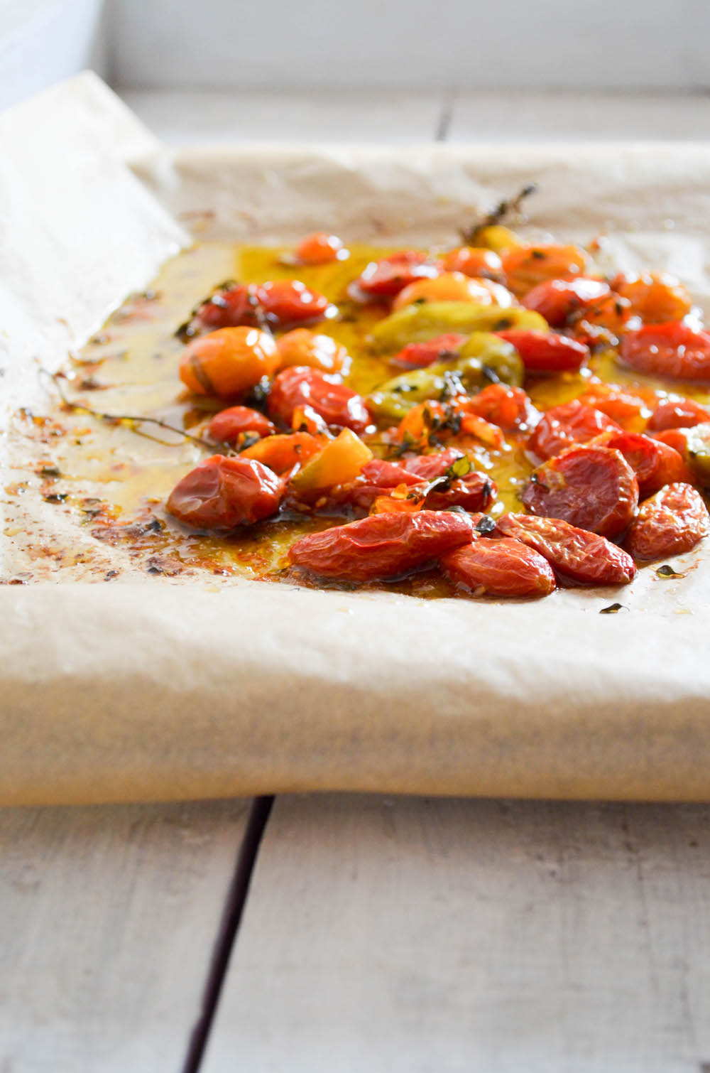 slow roasted tomatoes in jennie 39 s kitchen