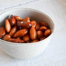 The Best Roasted Almonds