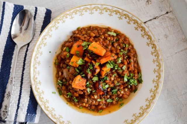 French Lentil Chili | In Jennie's Kitchen