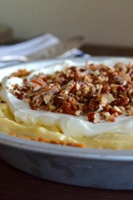 No Bake Pumpkin Cream Pie | In Jennie's Kitchen