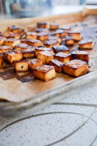 Crispy Roasted Tofu | In Jennie's Kitchen
