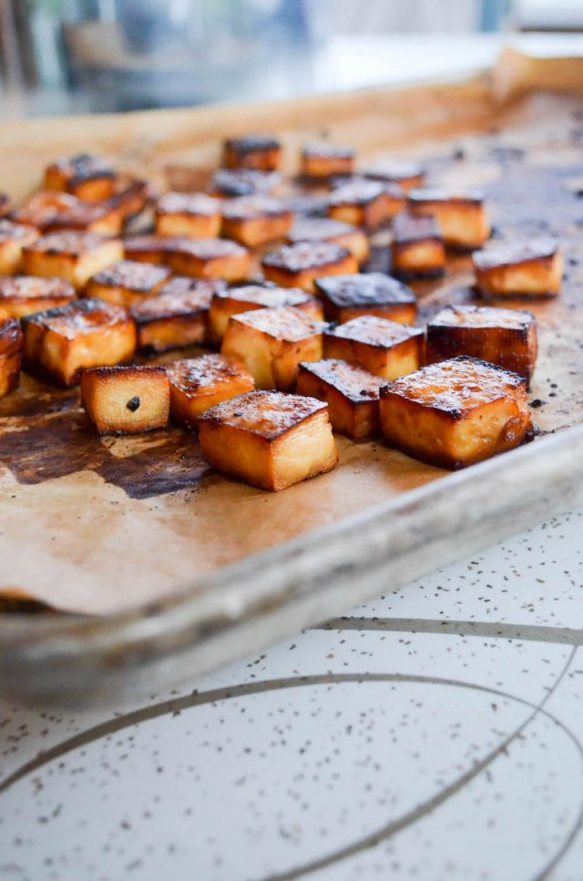 Crispy Roasted Tofu | In Jennie's Kitchen