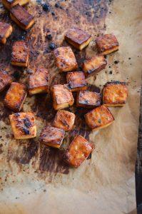 Crispy Roasted Tofu   In Jennie's Kitchen