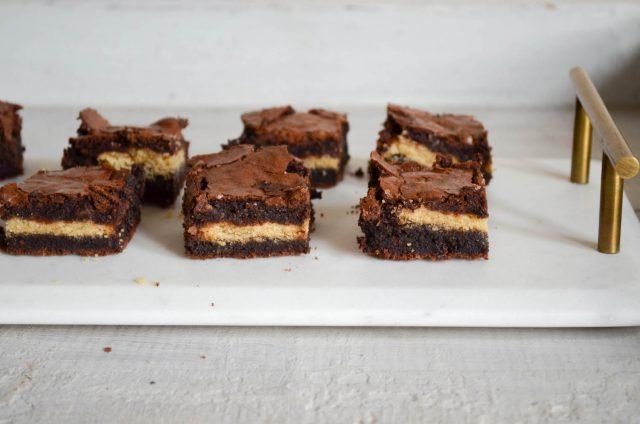 Twix Bar Brownies | In Jennie's Kitchen