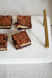 Twix Bar Brownies | In Jennie's Kitchen