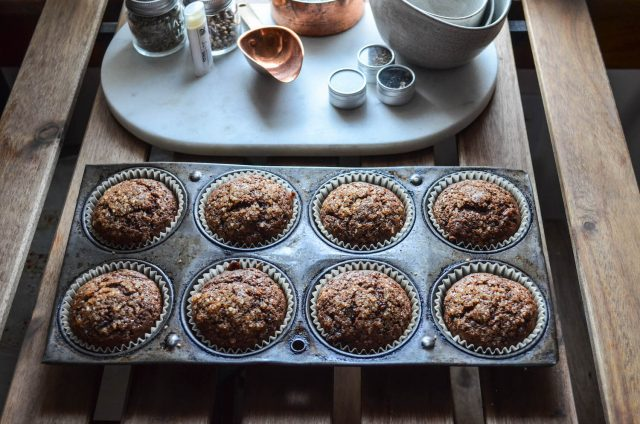 Chocolate Banana Muffins | In Jennie's Kitchen