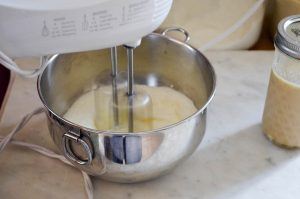 No Churn Maple Vanilla Ice Cream | In Jennie's Kitchen