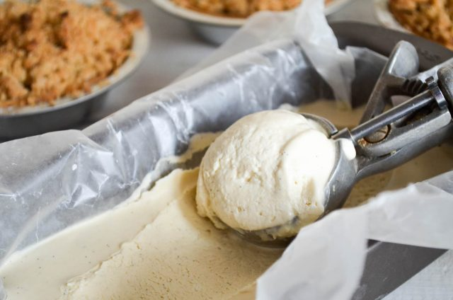 No Churn Maple Vanilla Ice Cream | In Jennie's Kitchen