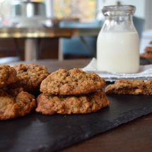 Chewy Oatmeal Walnut Allspice Cookies