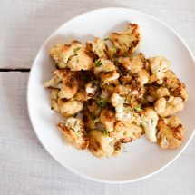 Pan Seared Cauliflower